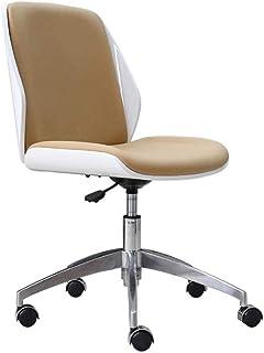 Las sillas de Escritorio Muebles Silla de Oficina de Cuero sin Brazos Silla de la computadora de elevación sillas giratorias Silla de Oficina en casa moderador de la reunión