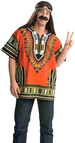 Forum Novelties - CS966107 - Dashiki orange - taille unique