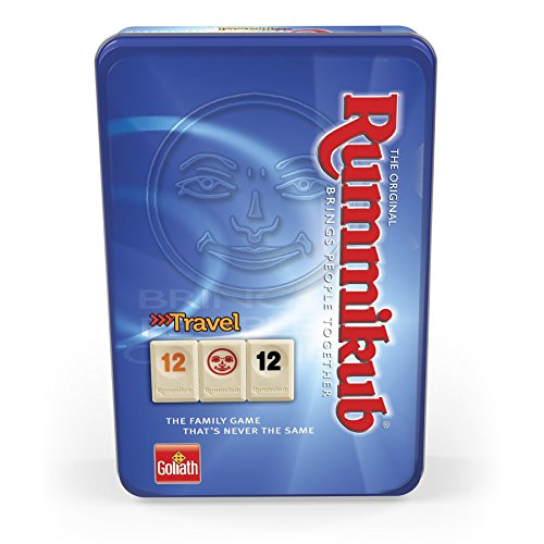 Goliath – Rummikub Reise-Set in Metalldose