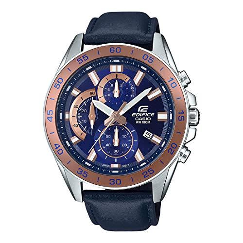 Casio Edifice EFV550L-2A - Reloj de pulsera para hombre, color plateado