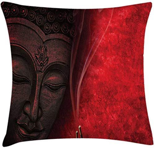 BONRI Reine de Coeur Carte à Jouer Casino Design Jeu de Jeu Poker Blackjack taie d'oreiller décoratif décor à la Maison Beau Cadeau intérieur taie d'oreiller Taille: -1- (16 × 16)