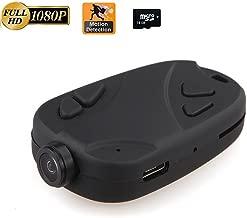 Hidden Camera,808 1080P Keychain Camera Motion Activated Portable DV Sport Action Camera (+ 16GB Memory Card)