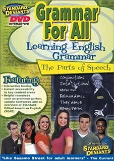 Standard Deviants: Grammar For All - Learning English Grammar - The Parts of Speech