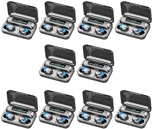 KEEBON 10x Auricular de Bluetooth Headset Auriculares Auriculares Auriculares Deportes