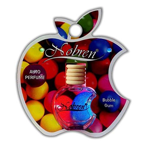 Autogeur BUBBLE rubber fruitige kauwgom geur nobren auto parfum luchtverfrisser geur hanger