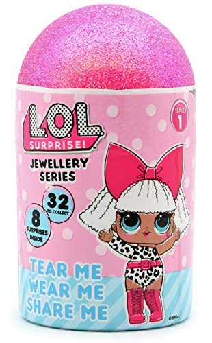 L.O.L. Surprise! Flip Top Digital Watch For Girls With Interchangeable Character Cover | Kids Doll Accessories Including 3 Random Toy Face Options To Swap Children from Age 3