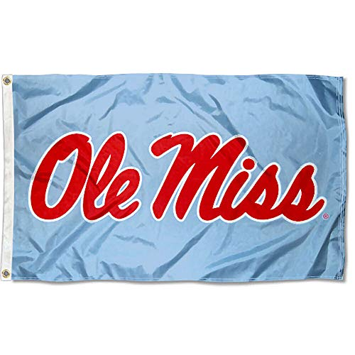 College Flags & Banners Co. Ole Miss Powder Blue Flag
