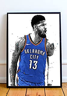 Paul George Limited Poster Artwork - Professional Wall Art Merchandise (More Sizes Available) (8x10)