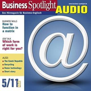 Business Spotlight Audio - How to function in a matrix. 5/2011 Titelbild