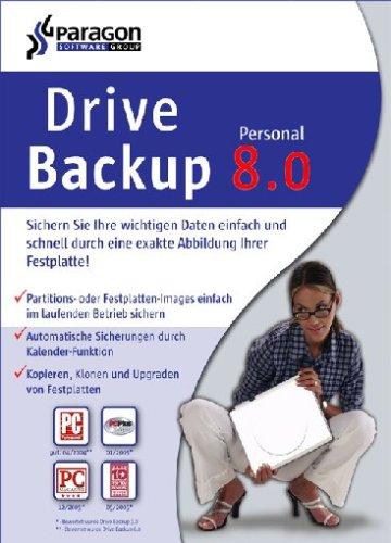 Paragon Drive Backup 8.0 Personal Edition