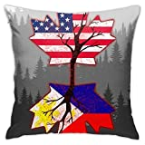 AOOEDM Art Throw Pillow Covers Decoración del hogar Fundas de Almohada Decorativas para Cama Sofá Cojín Sofá Funda de Almohada 18x18