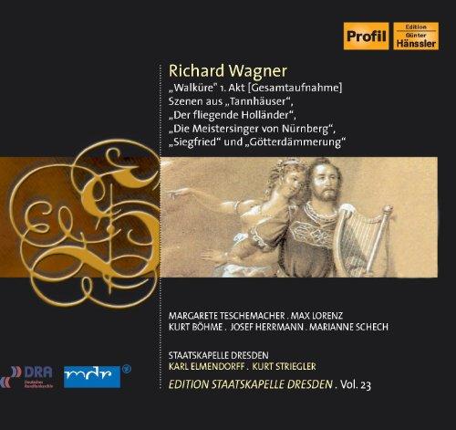 Wagner, R.: Opera Highlights (Staatskapelle Dresden Edition, Vol. 23) (1944)
