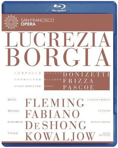 Gaetano Donizetti: Lucrezia Borgia (San Francisco Opera) [Bluray] [Blu-ray]