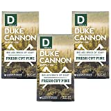 Duke Cannon Great American Frontier Men's Big Brick of Soap - Fresh Cut Pine, 10 ounce (3 pack)