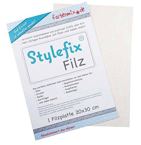 Farbenmix Stylefix-Filz 20 cm x 30 cm