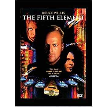 Bruce Willis The Fifth Element Movie Poster 24x36 Inch Wall Art Portrait Print