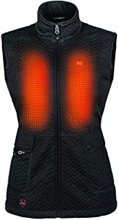 Womens Cascade Bluetooth Battery Heated Insulated Vest...