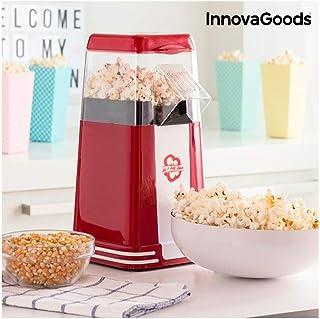 InnovaGoods 8435527813024 Hot & Salty Times Machine à pop-corn 1200 W Rouge