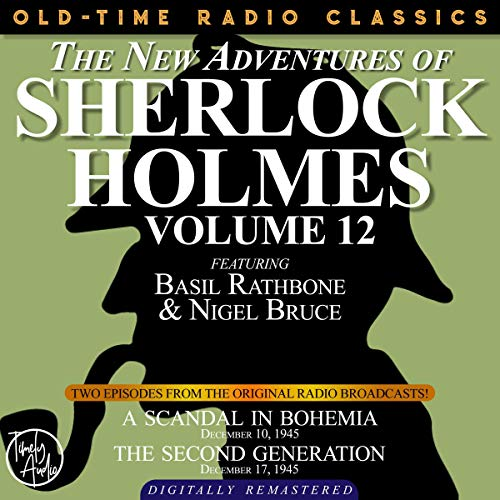 The New Adventures of Sherlock Holmes, Volume 12 cover art