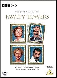 Fawlty Towers on DVD