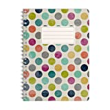 WIREBOOKS Notizbuch | Notizblock | Notizheft | Spiralblock 5053 DIN A5 120 Seiten 100g Papier liniert