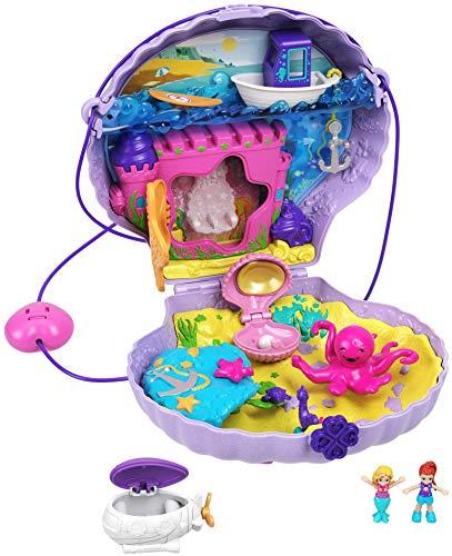 Polly Pocket Tiny Power Seashell Purse Playset