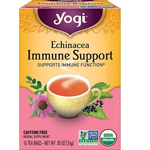 Yogi Tea - Echinacea Immune Support (4 Pack) - Supports Immune...