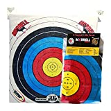Morrell Lightweight Youth Range NASP Field Point Archery Bag Target Replacement Cover with 2 Shooting Sides and 4 Shooting Spots, White
