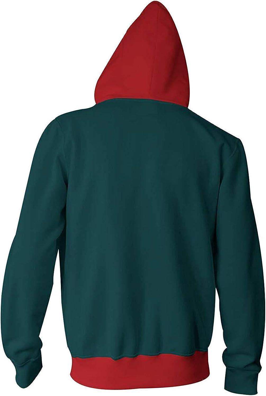 Unisexe Spiderman Superhero cosplay 3D Sweat /à capuche for homme femme Sweat-shirts /à manches longues avec poches Big SPIDERSYBB Color : Red, Size : M