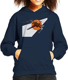 Star Wars X Wing Starfighter Kid's Hooded Sweatshirt