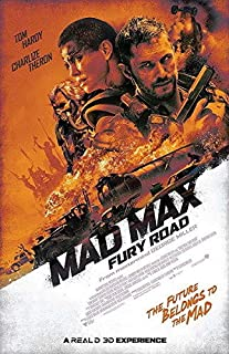 159050 Mad Max 4 Fury Road - Fight Shoot Car US Decor Wall 36x24 Poster Print
