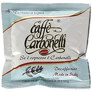 Caffè Carbonelli 50 Cialde Ese, Miscela Decaffeinato - 1 Scatola