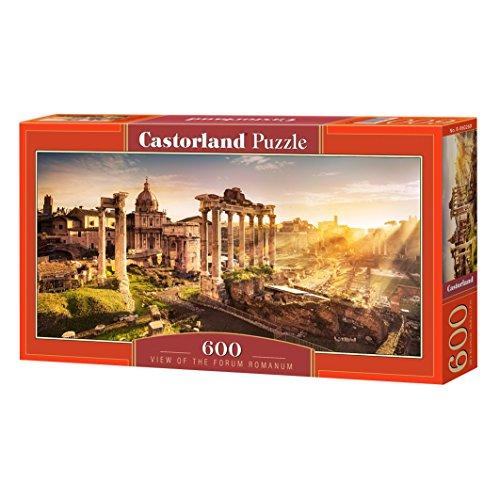 Castorland B-060269 View of The Forum Romanum,Puzzle 600 Tei, bunt