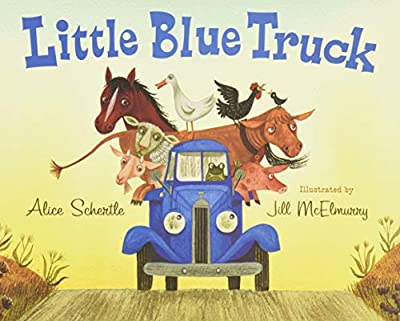Little Blue Truck is a fun book with a lot of great sounds to read.