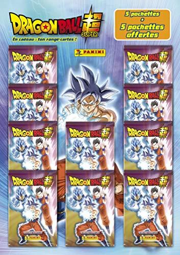 Juego de 5 Bolsillos adquiridos, 5 Regalos + Compartimento para Tarjeta inédito Dragon Ball Super Trading Cards