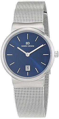 Danish Design Damen Analog Quarz Uhr mit Edelstahl Armband 3324582