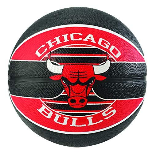 Spalding NBA Team Balón de Baloncesto Chicago Bulls, 7