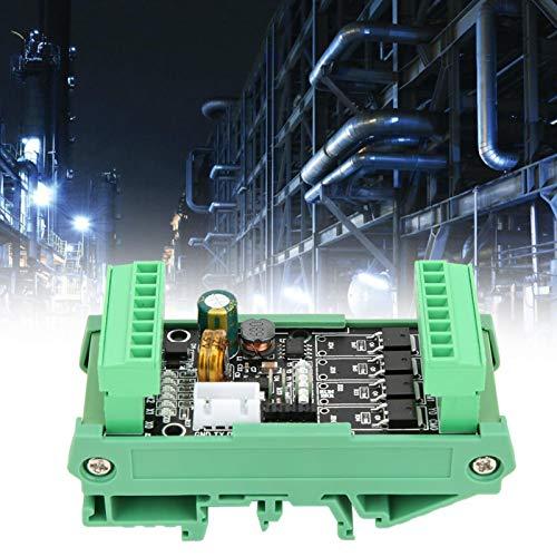 Controlador lógico programável, acessório industrial leve, prático e simples de instalar para FX2N-10MT