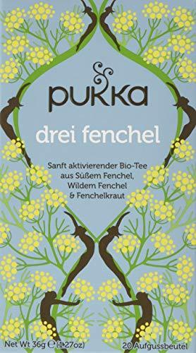 Pukka Bio-Tee Drei Fenchel, 80 Teebeutel, 4er Pack (4 x 20 Stück)