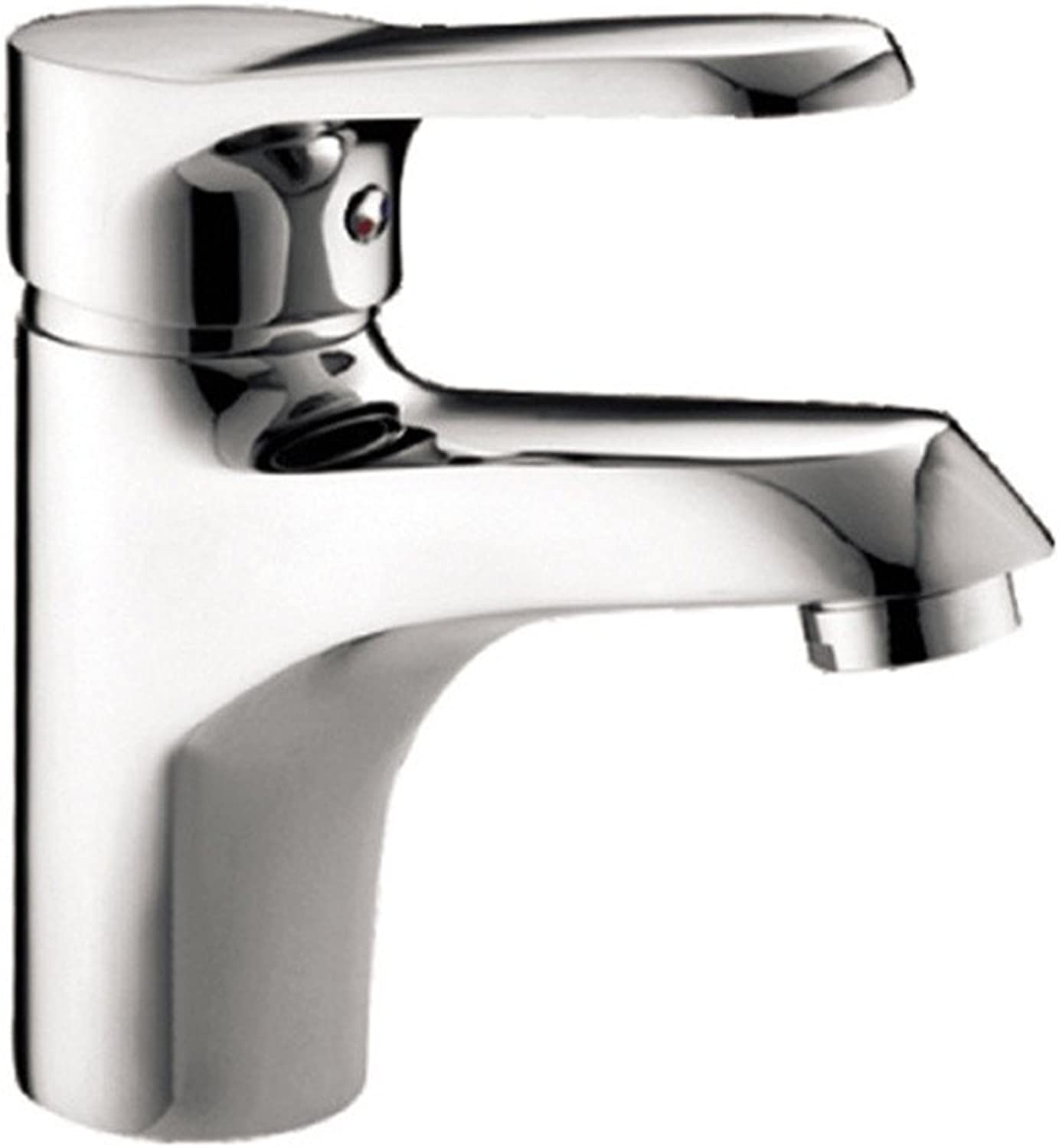 LHbox Basin Mixer Tap Bathroom Sink Faucet The copper material single hole of hot and cold water basin mixer basin mixer on low).