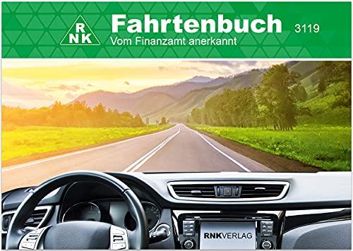 RNK 3119 - Fahrtenbuch PKW, für 248 Fahrten Fahrten, steuerlicher Kilometernachweiß, DIN A6 quer
