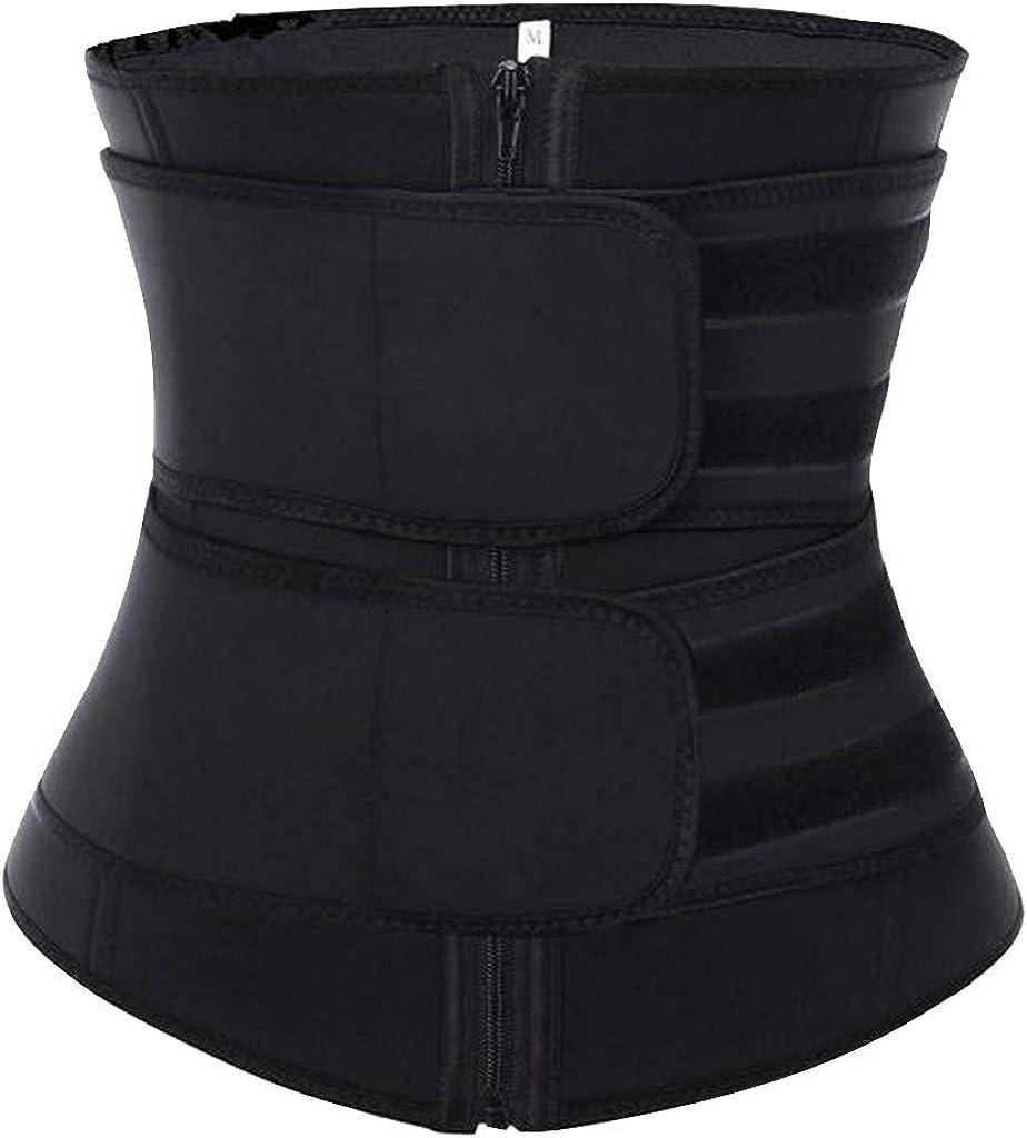 DII osedhc Women Waist Trainer Shaper Sport Workout Girdle Underbust Corset Belt Under Clothes Tummy Control Shapewear
