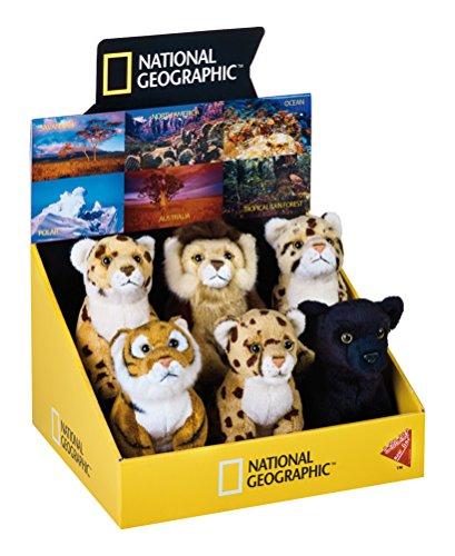National Géographic–770706–Tiger–Löwe–Schwarzer Panther–Leopard gesprenkelt–Jaguar–Gepard