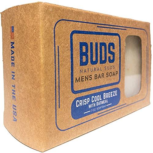 Natural Soap For Men - Men's Natural Oatmeal Soap Bar - Enriched With...