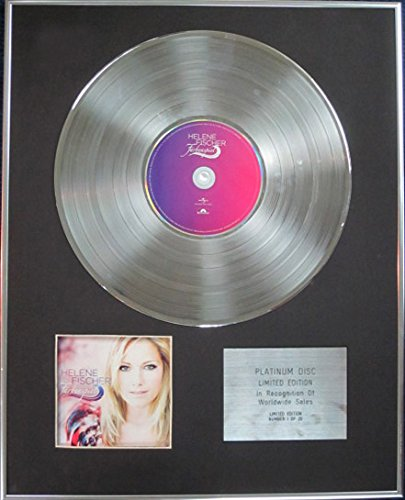 Century Music Awards Helene Fischer CD Platinum Disc Limited Edition – Farbenspiel