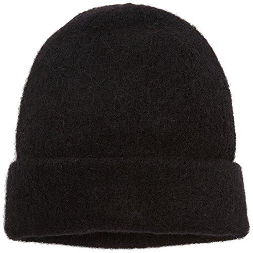 PIECES Damen PCJOSEFINE Hood NOOS Strickmütze, Schwarz (Black), One Size