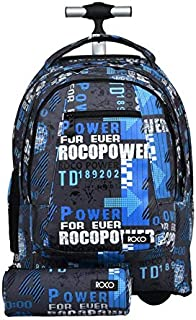 ROCO Bag KNAPSACK TROLLEY 20 with pencil case