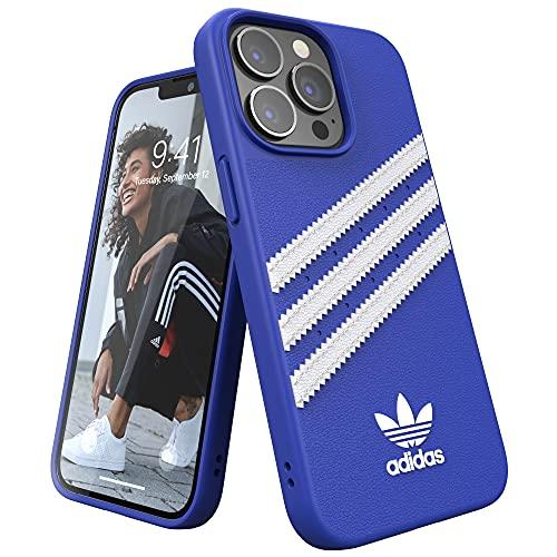 adidas Funda Teléfono Diseñada para iPhone 13, iPhone 13 Pro, Fundas Probadas contra Caídas, Bordes Elevados a Prueba De Golpes, Funda Protectora, Azul Royal