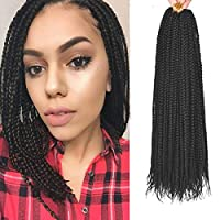 Hair Material: High Temperature Kinky Straight Fiber High Quality Senegal Braids Hair Quality: Beautiful,Natural Texture,Lightweight,No Smell,So Pretty And Soft,Neat and Easy To Install,Looks Very Nice and Neat ,Not easy to separate, Hold long time. ...