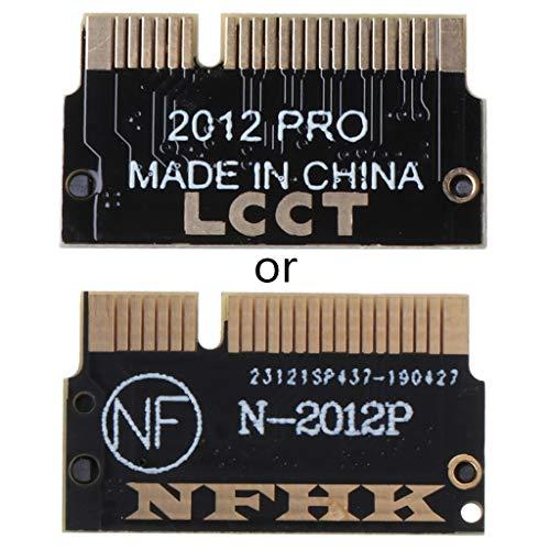 Xiangrun Controlador PC, M.2 NGFF M Key SSD para Mac Pro Retina 2012 A1398 A1425 adaptador de tarjeta convertidor